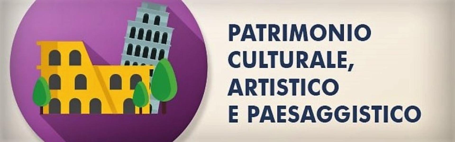 Patrimonio culturale artistico e paesaggistico